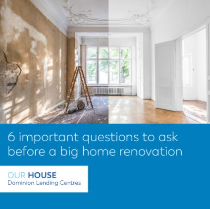 Questions to ask before renovations